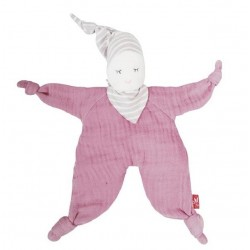 Kikadu - Bio Puppe Pink, 24cm