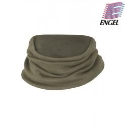 ENGEL - Bio Kinder Schlauchschal 36x21cm, Wolle/Seide, olive