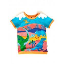 merle kids - Bio Kinder T-Shirt mit Vorzeiten-Motiv