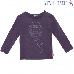 Enfant Terrible - Langarmshirt mit Heißluftballonstickerei