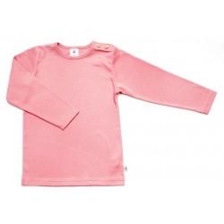 Leela Cotton - Bio Kinder Langarmshirt, altrosa