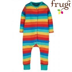frugi - Bio Baby Strampler Regenbogen
