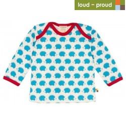 loud & proud - Langarmshirt mit Igel-Druck