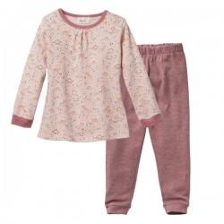 People Wear Organic - Bio Kinder Schlafanzug mit Dino-Allover