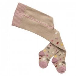 People Wear Organic - Bio Baby Strumpfhose mit Blumen-Muster