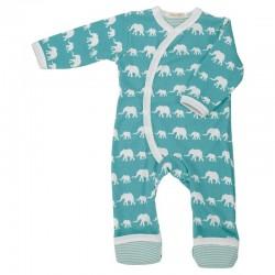 Pigeon - Baby Strampler mit Elefanten -Motiv