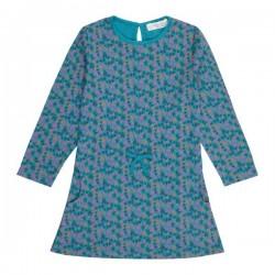 """Sense Organics - Bio Kinder Kleid """"Pilvi"""" mit Blumen-Allover"""