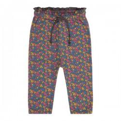 """Sense Organics - Bio Baby Jersey Hose """"Vanna""""mit Blumen-Allover"""