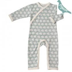 Pigeon - Bio Baby Strampler mit Bären-Motiv