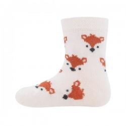 Ewers - Bio Baby Socken mit Fuchs-Allover