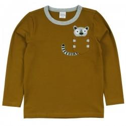 Fred`s World by Green Cotton - Bio Baby Langarmshirt mit Lemuren-Applikation