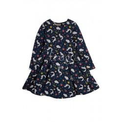 """frugi - Bio Kinder Jersey Kleid """"Sofia"""" mit Fuchs-Allover"""