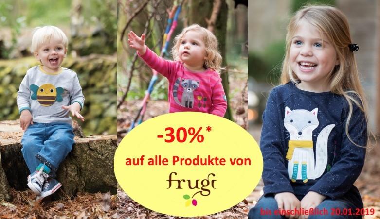 30% auf Kindermode von Frugi